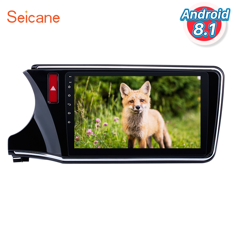 <font><b>Seicane</b></font> 2Din Android 8.1 Car Stereo GPS Navi 10.1