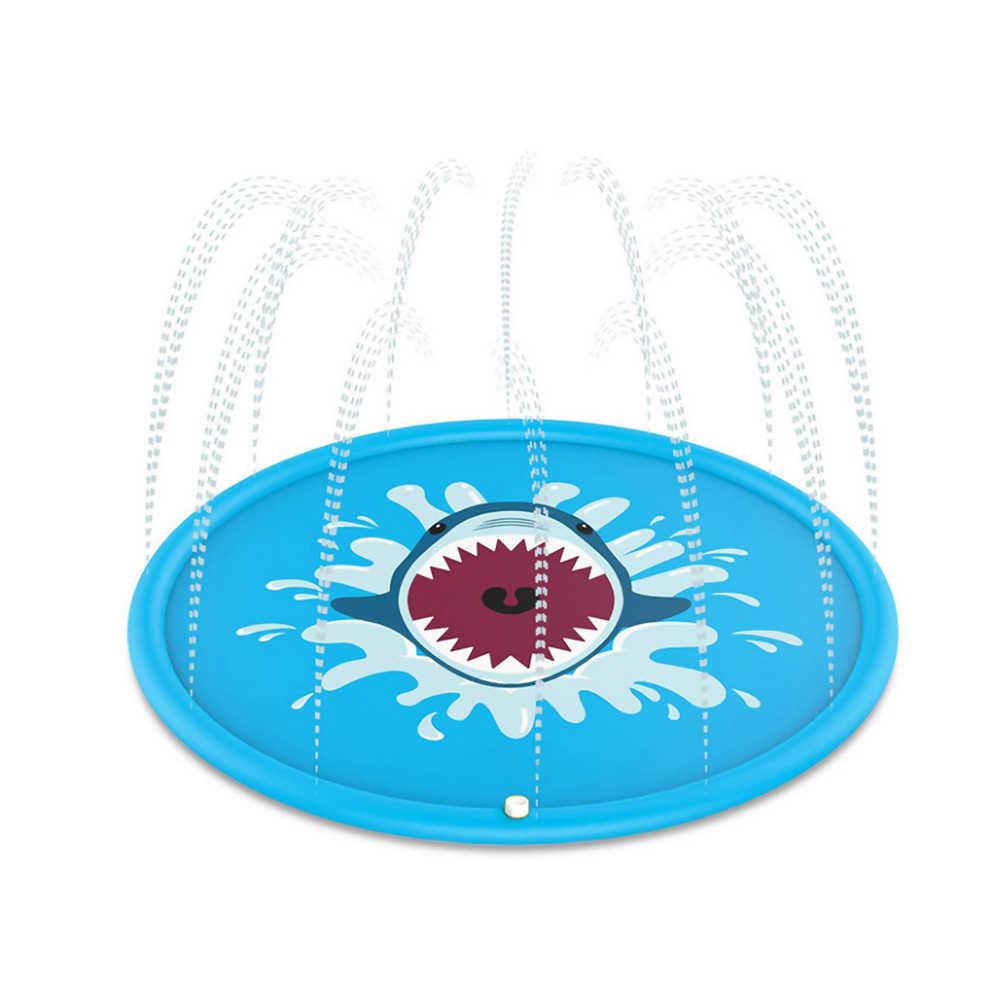 2019 Padrão Tubarão Água mat brinquedos para Criança Crianças para a estimulação sensorial, habilidades motoras, as habilidades cognitivas
