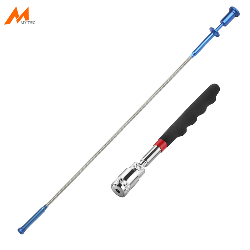 Magnetic LED Light Pick-Up Tools Flexible 4-Claw Long Reacher Garbage Trash Grabber Tool Telescopic Magnet Pick Up Tool