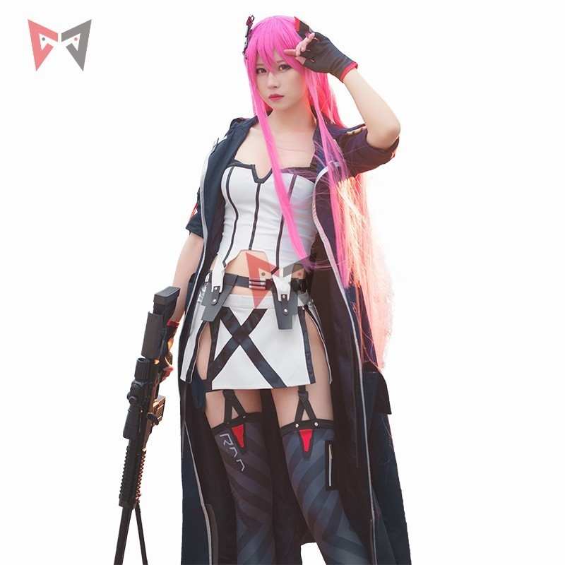 New Girls' Frontline cosplay costume  M82A1 soldier anime carnaval set ump45 fashion wig boots uniform clothing for girl women