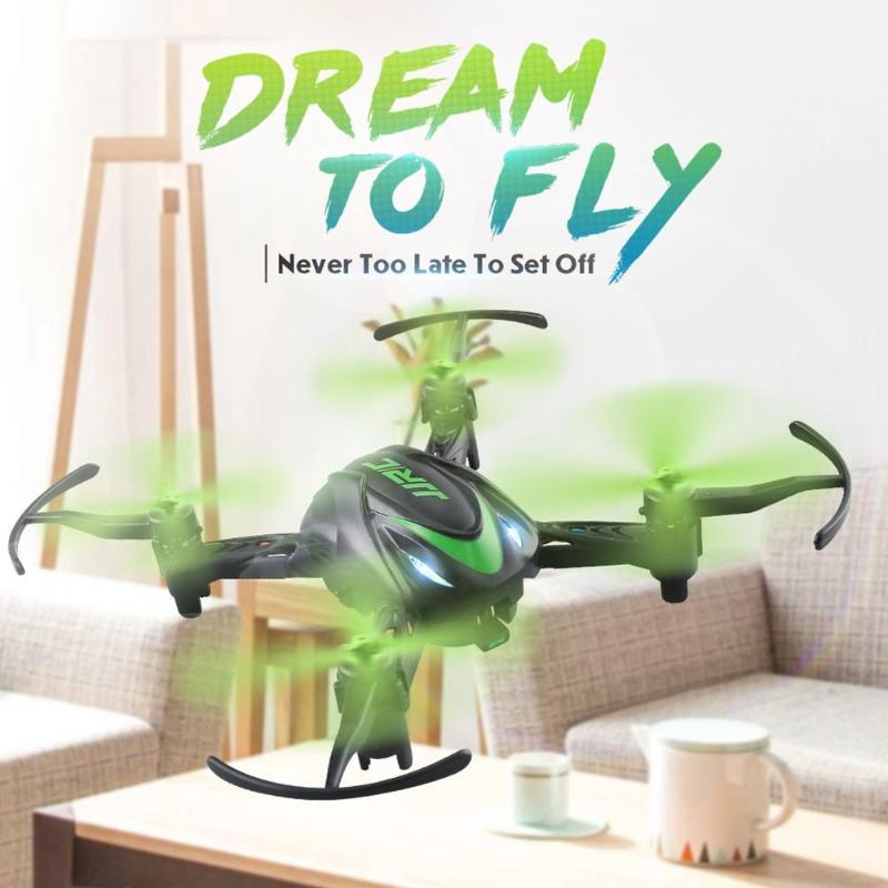 Rc-flugzeuge Fernbedienung Spielzeug Initiative Mini Ultra Licht Klapp Drone 6-achse Gyroskop Remote Gesteuert Flugzeug Mini Falten Kinder Spielzeug Quadcopter Uav Spielzeug Geschenk