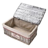 New Arrival 4PCS Covered Rattan Storage Box Drawer Organizer Storage Basket Household Organizer Hot Selling