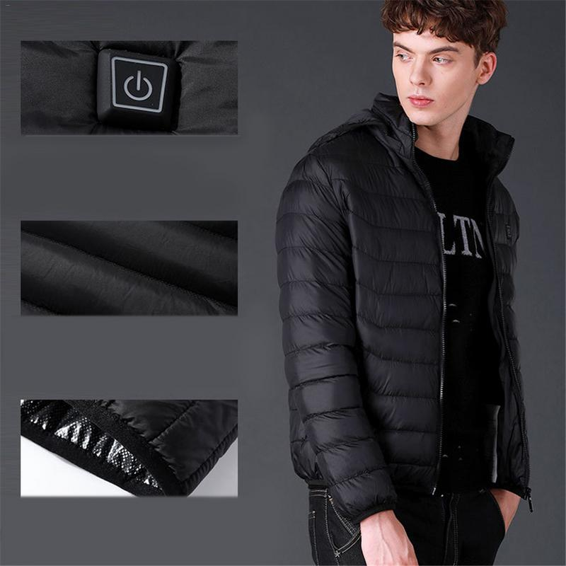 USB Heated Coat Sports Winter Insulated Jacket Men Women Outdoor Sport Hiking Thermal Clothes WindproofUSB Heated Coat Sports Winter Insulated Jacket Men Women Outdoor Sport Hiking Thermal Clothes Windproof