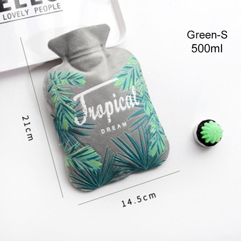 Creativo lindo de la botella de agua caliente cubierta de la bolsa ...