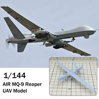1/144 WWII RESIN KITS U.S AIR MQ 9 Reaper UAV Model Resin DIY Kits Toys Gift