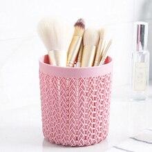 Кисти для макияжа цилиндрические полые косметические кисти коробка держатель для хранения пустой держатель косметические кисточки в сумке Органайзер инструменты для макияжа