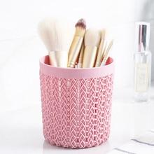 Makeup Brushes Cylinder Hollow Cosmetic Brush Box Holder Storage Empty Bag Organizer Make Up Tools