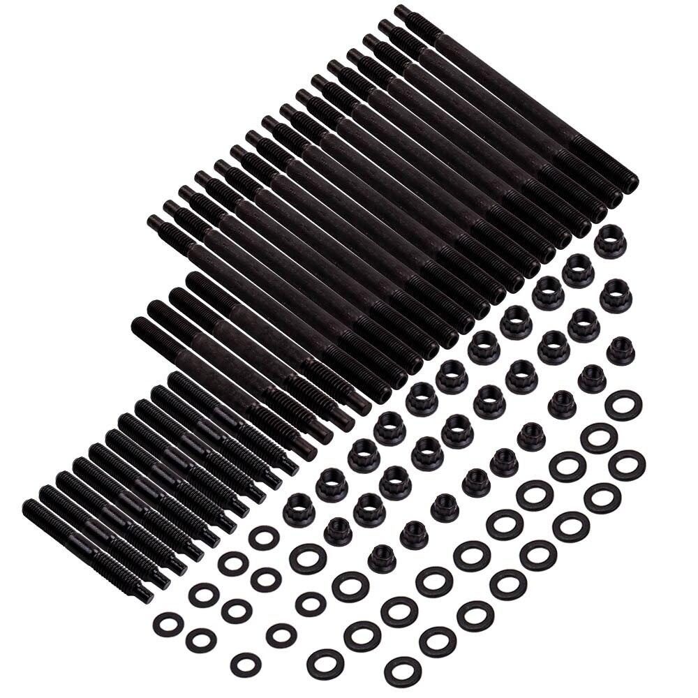Kit de goujons de culasse pour 97-03 Chevy LS1 LS6 LS2 LQ9 4.8L/5.3L/5.7L/6.0L nouveau