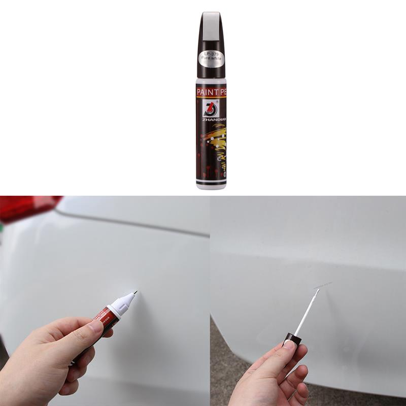 Onever 5 Colors Waterproof Car Scratch Remover Painting Paint Marker Pen Repair Tool
