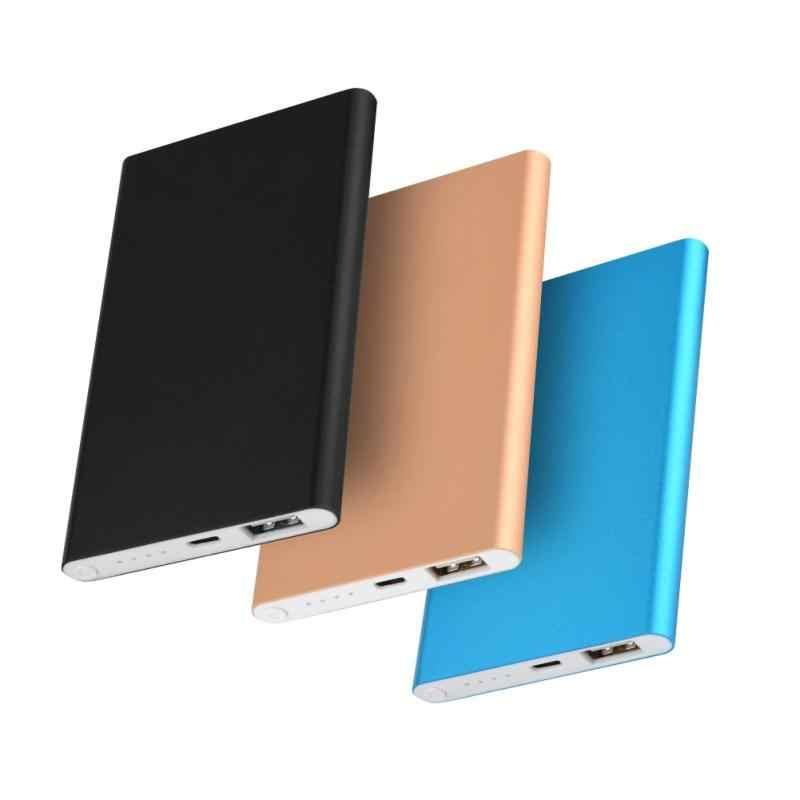 (لا البطارية) المحمولة 4000mAh علبة صندوق شحن Diy عدة هاتف محمول رفيع جدا الهاتف USB شحن سريع لل 606090 بوليمر صندوق بطارية