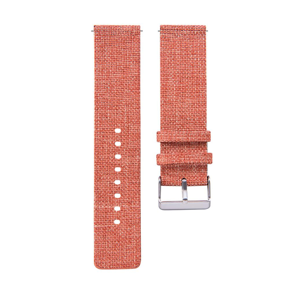 Image 5 - 20MM Universal Nylon Canvas Replacement Watch Band Wrist Straps Suitable Smart Watch Brand New And High Quality Comfortable-in Smart Accessories from Consumer Electronics