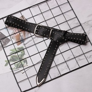 Image 5 - CHICEVER nit PU skórzane pasy dla kobiet czarny ze sprzączką pasek damski spodnie damskie akcesoria jesień koreański moda fala 2020
