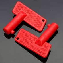 Pair Red Battery Cut Off Kill Isolator Switch Spare Keys Marine Auto Boat Truck
