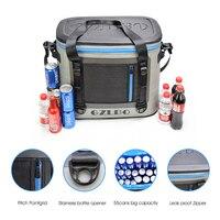 GZLBO сумка для пикника для кемпинга пеший Туризм 55 банок мягкий кулер коробка для морской рыбалки Кемпинг портативный охладители холодильни
