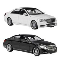 Mini Car Model High Simulation 1:24 For Mercedes Benz S Class Simulation Alloy Car Model Toy Vehicles Toys For Kids