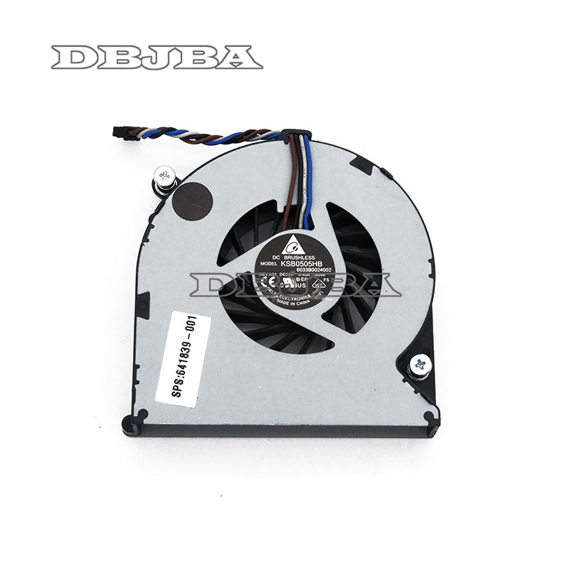 Cpu Fan for HP EliteBook 8460P 8460W 8470P 8470W Laptops