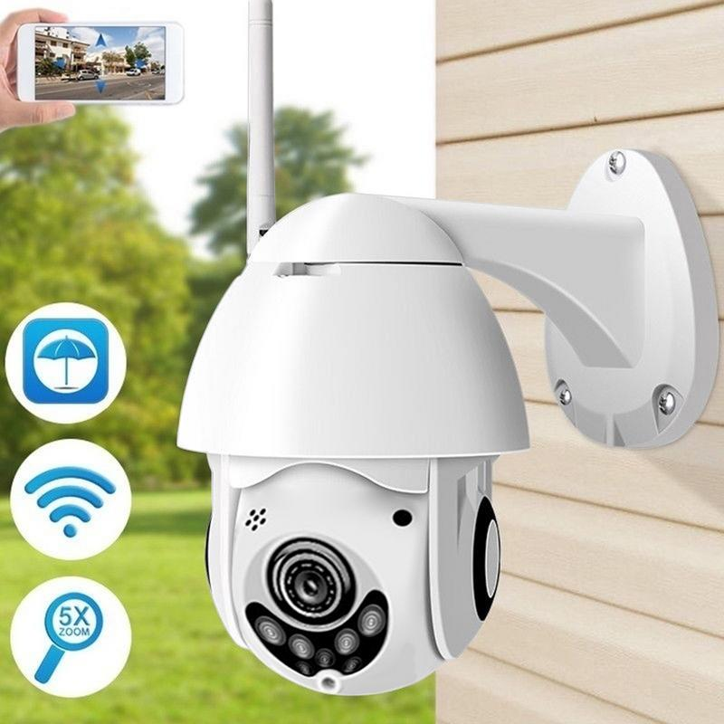 Ip-Camera Ptz Wifi Motion-Detection CCTV Night-Vision Waterproof Security 2MP HD 1080P
