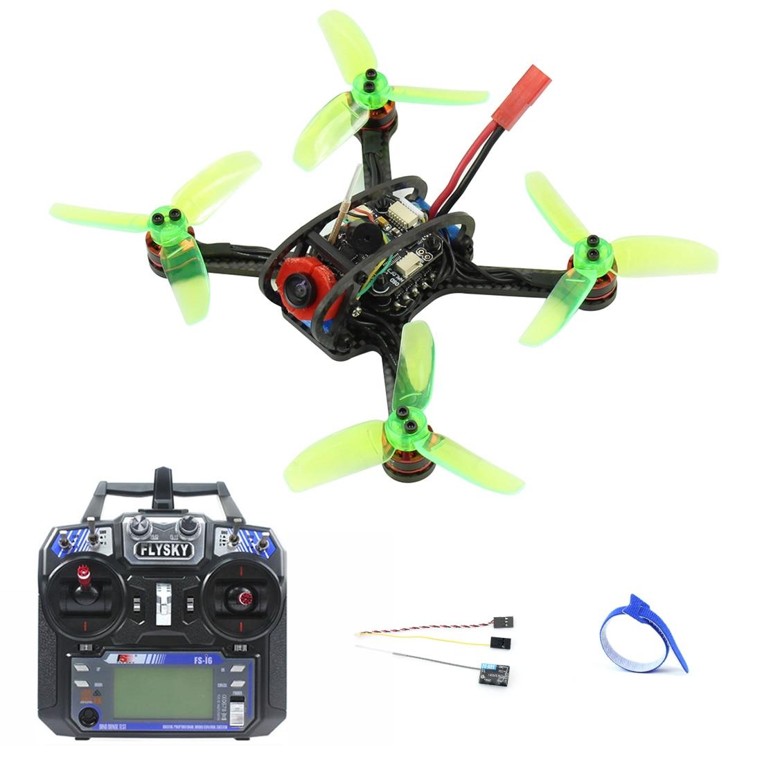 Oyuncaklar ve Hobi Ürünleri'ten RC Helikopterler'de Mini 120mm F3 OSD 2 S RC FPV Yarış Drone Quadcopter 700TVL Kamera VTX Gözlüğü 10A ESC 7500KV Fırçasız 2.4G 6ch BNF RTF Set'da  Grup 2