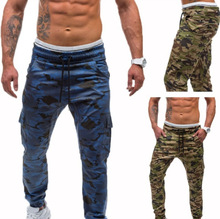 2019 Hot Sports Pants Man Style Camouflage Jogging Hip-hop Bodybuilding Running Gym