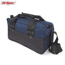 Hi-Spec Electrician Tool Bag Belt Multiple Pocket Canvas Work Carpenter Pouch Organizer Garage Storage Tools Holder