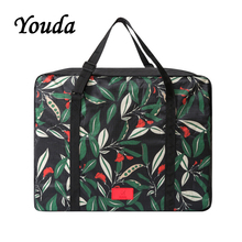 Купить с кэшбэком Youda Original Product Foldable Portable Travelling Tote Large Capacity Clothing Storage Travel Bags