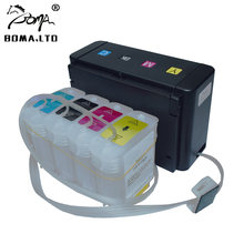 BOMA.LTD Continuous Ink Ciss System For HP10 82 For HP 500 800 815 Printer For HP 10 82 CISS With Cartridge Auto Reset ARC Chip(China)