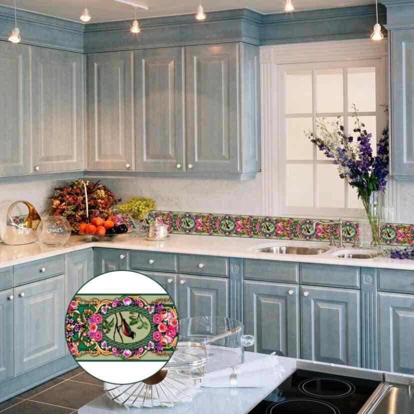 Azulejo Para Cocina Y Bano De Pvc Impermeable Autoadhesivo Vintage