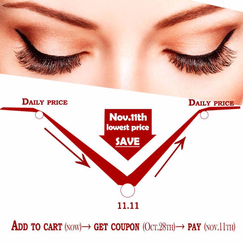 9ad5c35e1bd ... 5 pairs Wholesale Soft False Eyelashes Wispy Fake Lashes Makeup Black  Eyelash Extension Professional Lash Supplier