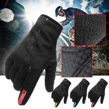 Winter Motorcycle Gloves Men Racing Anti-slip Waterproof Windproof Warm Cycling Bicycle Cold Luvas Motor Guantes Glove