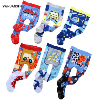 YWHUANSEN Fashion Infant Boy's Tights Anti Skid Princess Shoes Sticky Newborn Baby Tights Kids Cotton Pantyhose Collants Bimba