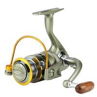 เครื่องปั่นด้ายโลหะ 12BB 5.5: 1 ซ้ายมือขวา 1000 7000 ซีรี่ส์ Spool เกียร์ตกปลา Tackle pesca daiwa-ใน รอกตกปลา จาก กีฬาและนันทนาการ บน