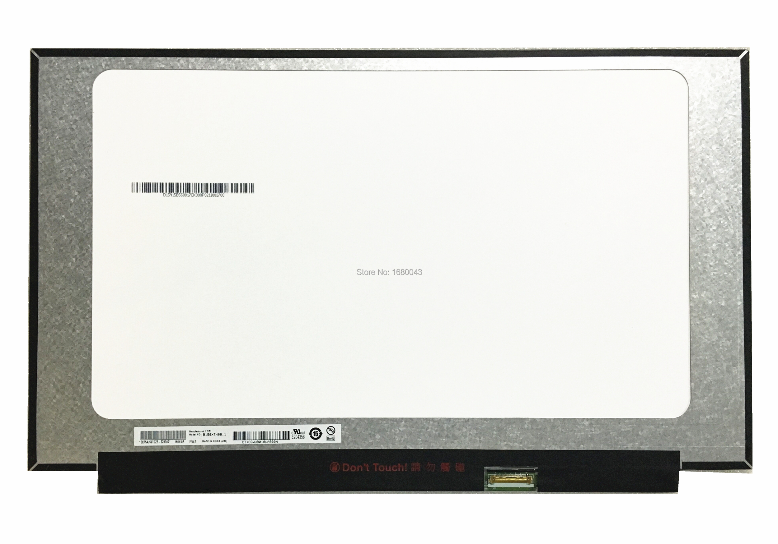 B156XTN08.1 EDP 1366x768 with no screw holes 15.6 LED LCD Screen Display Panel 30 PIN free shipping b125xtn02 0 lp125wh2 tpb1 hb125wx1 201 for dell e7240 e7250 lcd screen edp 768 30 pin left right 3 screw holes
