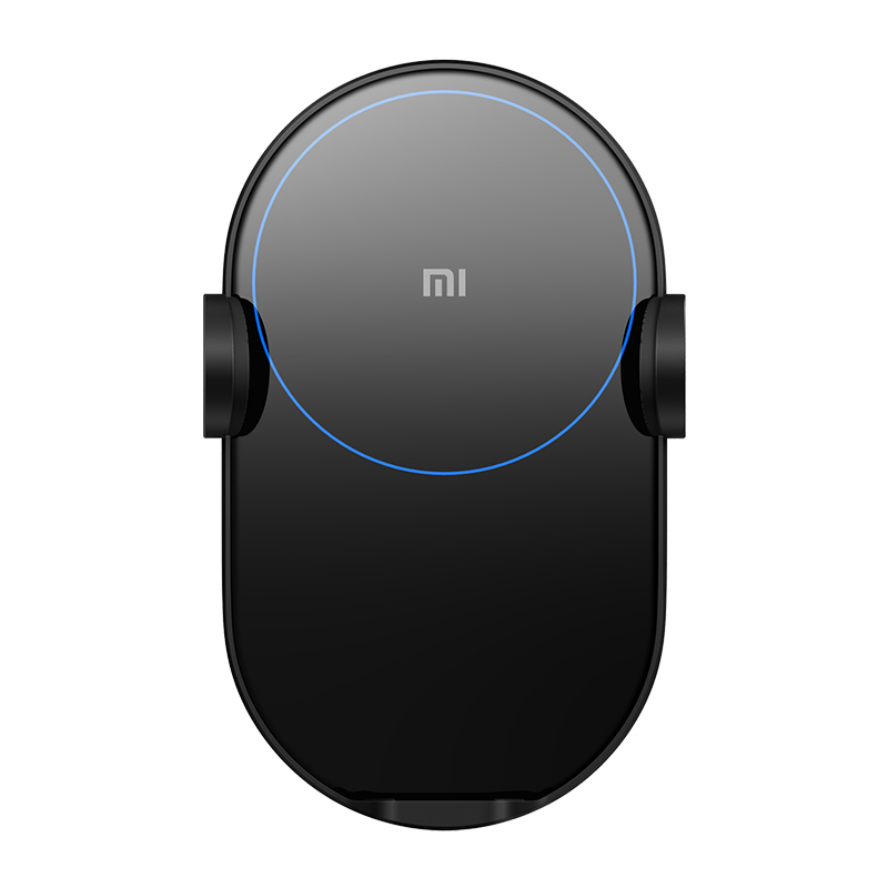 Image 3 - Original Xiaomi Wireless Car Charger 20W Max Electric Auto Pinch 2.5D Glass Ring Lit Charging for Xiaomi Mi Smartphone-in Mobile Phone Chargers from Cellphones & Telecommunications