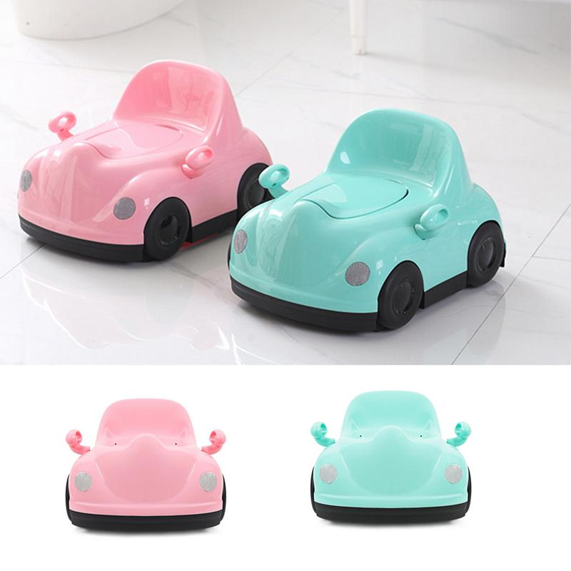 Baby Potty Chair Toilet Car Shape Training Toilet Seat Children's Pot Kids Bedpan Portable Urinal