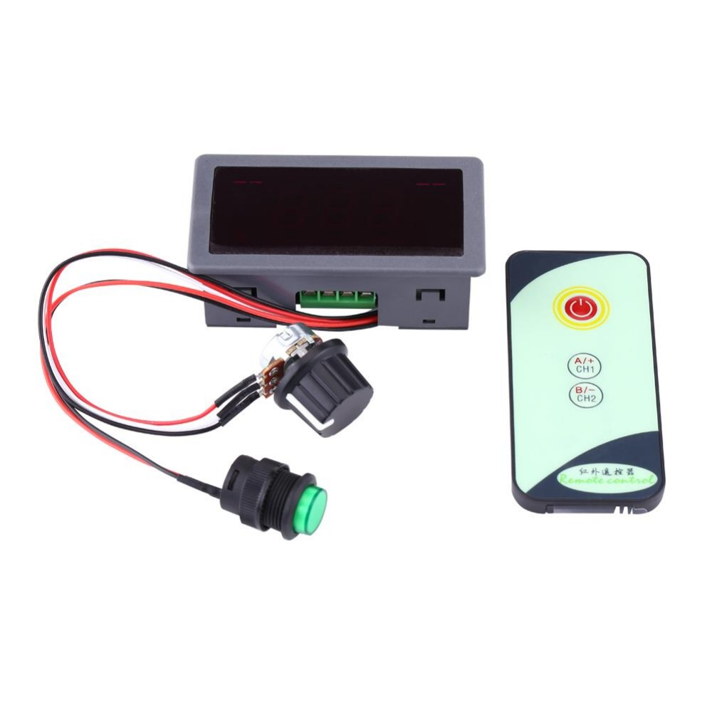 Image 3 - Durable DC 6V 12V 24V 5A/5A PWM Motor Speed Regulator Digital LED Display with IR Remote Controller Variable High Quality.Motor Controller   -