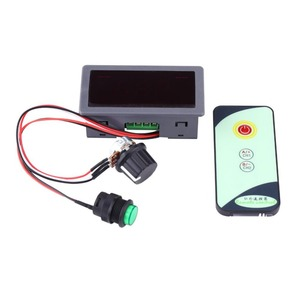 Image 3 - Durable DC 6V 12V 24V 5A/5A PWM Motor Speed Regulator Digital LED Display with IR Remote Controller Variable High Quality.