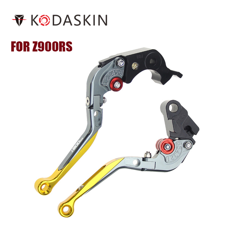 KODASKIN Folding Extendable Brake Clutch Levers for Z900RSz900rs