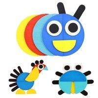 50pcs/60pcs Cards 3D Puzzle Set Montessori Toys For Kids Children Boys Oyuncak Juegos Educativos Kids Jigsaw Tangram