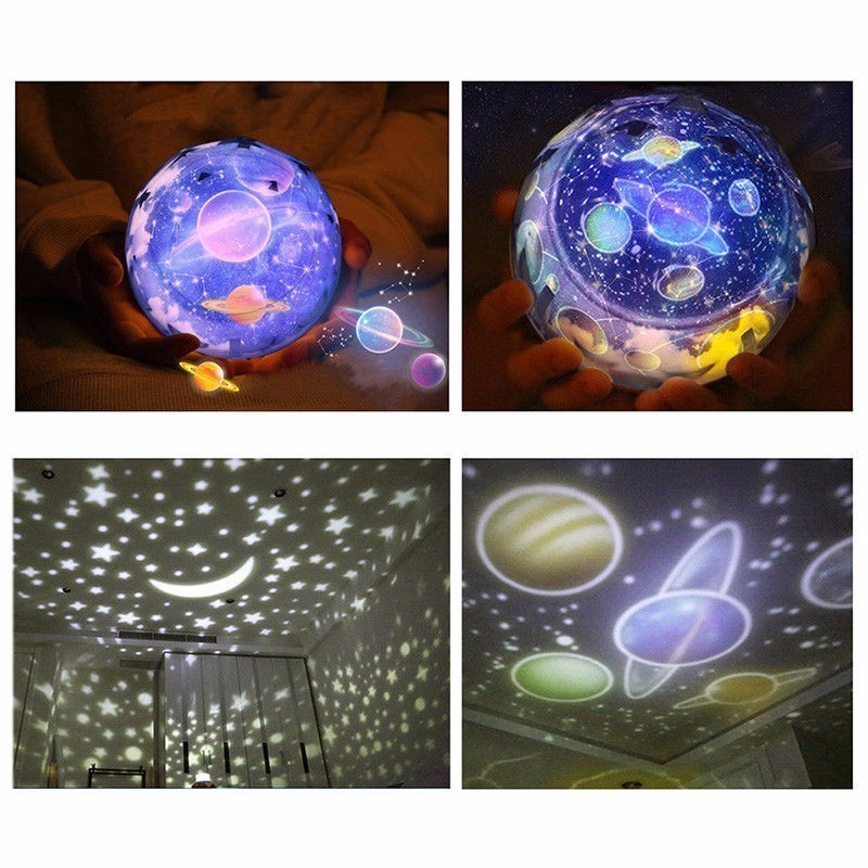 Stars Starry Sky LED Night Light Projector Moon Lamp Battery USB Kids Gifts Children Bedroom Lamp Projection Lamp the starry sky iraqis projection lamp home night light for christmas