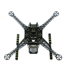 S520 S600 каркасный комплект с посадки Шестерни опорная сверхмощная 4 осевая стойка Quadcopter F450 Модернизированный каркас для Радиоуправляемый fpv дрон