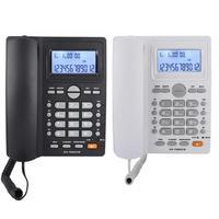 Modieuze Thuis Dual-port Extension Set Draadgebonden telefoon Met Caller LCD Display & Speakerphone & Grote Knoppen telefon