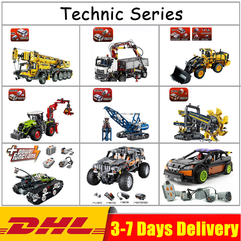 EN Stock GPM LegoINGlys Lepin Technic 20004 20023 20025 20028 20030 20033 20034 20041 20052 20053 20055 Blocs Briques Jouets Cadeaux