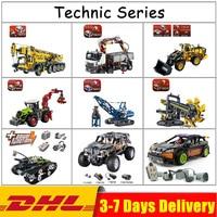 IN Stock MOC LegoINGlys Lepin Technic 20004 20023 20025 20028 20030 20033 20034 20041 20052 20053 20055 Blocks Bricks Toys Gifts