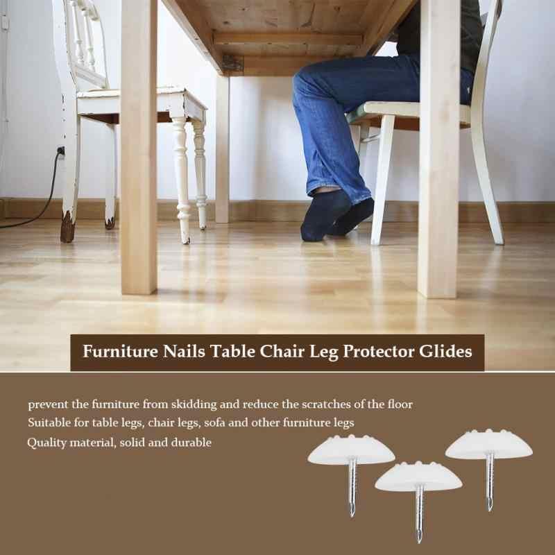 100 шт Противоскользящий пластиковый стул ноги пола протектор колодки стол опоры для мебели 2019