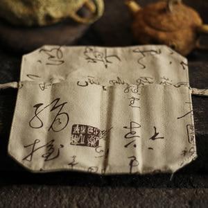 Image 5 - Conjunto de acessórios de chá de bambu natural, conjunto de 5 peças de utensílios de chá puer agulha colher filtro de chá infurso vintage feito à mão