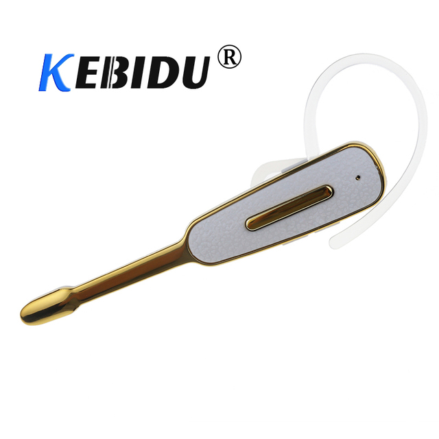 kebidu Wireless Headset Bluetooth Earphone with USB Charging Transmission Distance Stereo Ear Hook Headset for iPhone xs Samsung