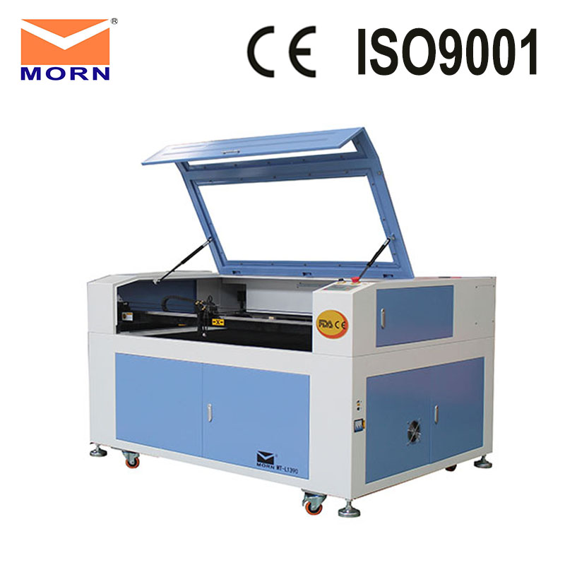 Cheap CNC Machine CO2 Laser Engraving Lazer Printer Machine MT-L1390 + CW5000 Water Chiller