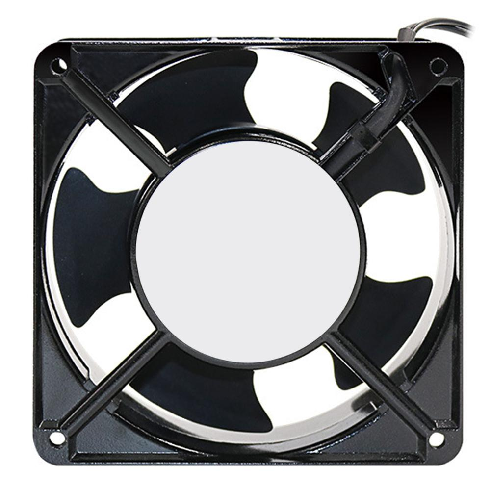 220V 120*38MM Low Noise Ozonizer Cooling Soldering Tin Exhaust Fan