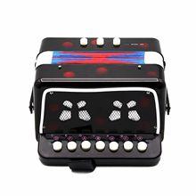 IRIN Mini Small Children Keyboard Accordion Rhythm Educational Musical Instrument Band Toy for Kids Keyboard Accordion