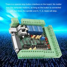 Гравировальный станок с ЧПУ секционная плата 0-10VPWM секционная плата адаптер 4 оси 5 осей 6 осей контроллер движения карты